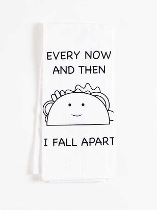 Now and Then Taco Hand Towel - Altar'd State