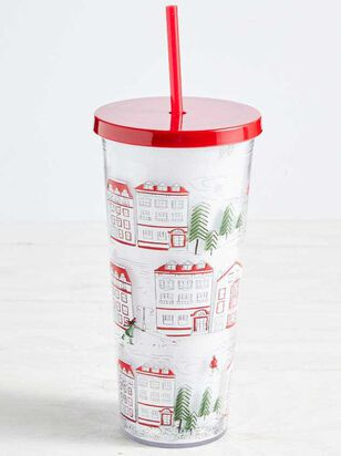Glitter Holiday Tumbler - Altar'd State