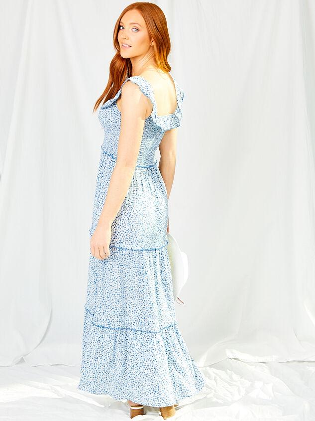 Marlowe Maxi Dress Detail 3 - Altar'd State