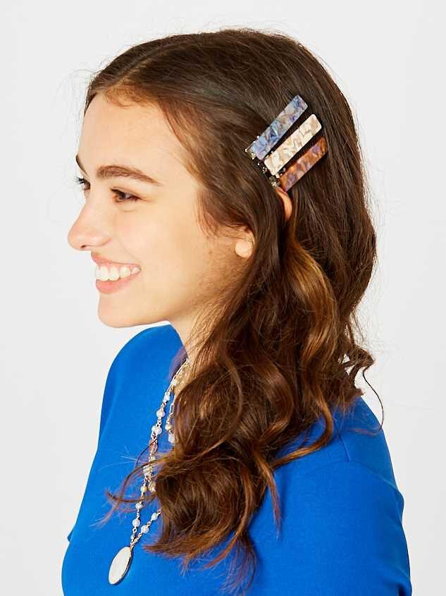 New Neutral Hair Clip Set Detail 2 - Altar'd State