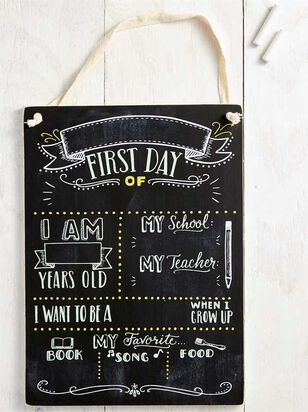 Tullabee First Day of School Chalkboard Sign - Altar'd State