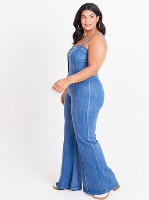 Jenna Overall Jumpsuit - Altar'd State
