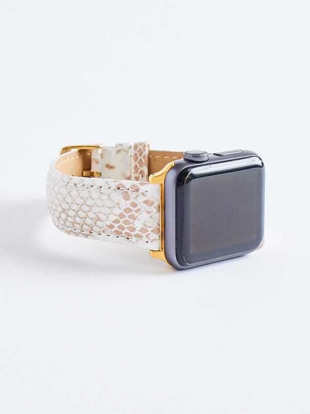 Snake Print Smart Watch Band Detail 2 - Altar'd State