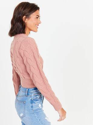 Erin Cropped Sweater - Altar'd State