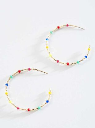 Nevaeh Hoop Earrings - Altar'd State