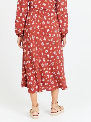 Alyson Floral Midi Skirt - Altar'd State