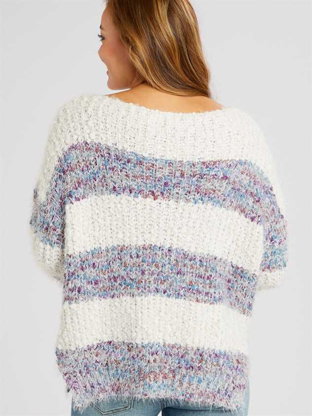 Lovely Lash Marled Sweater Detail 5 - Altar'd State