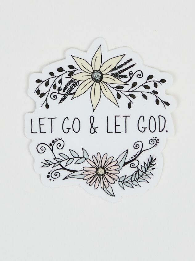 Let Go & Let God Sticker Detail 1 - Altar'd State