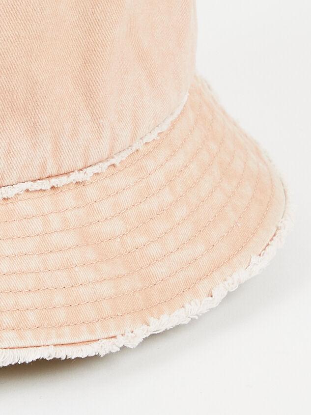Distressed Denim Bucket Hat Detail 2 - Altar'd State