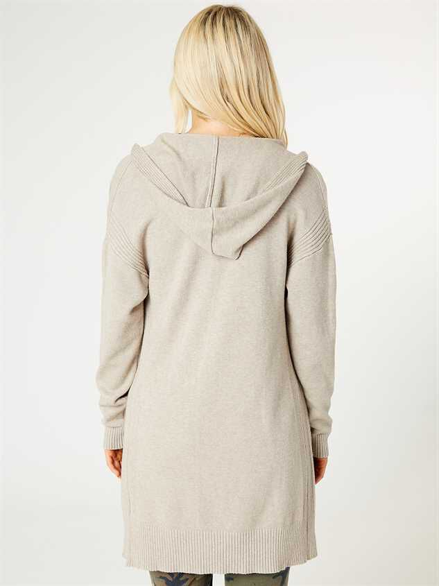 Hooded Lounge Cardigan Detail 3 - Altar'd State