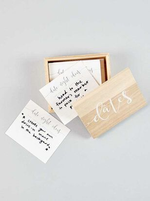 Vow'd Wooden Date Suggestion Box - Altar'd State