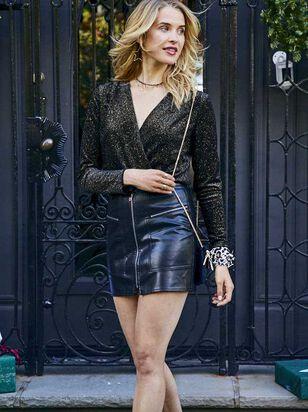 Lexie Leather Skirt - Altar'd State