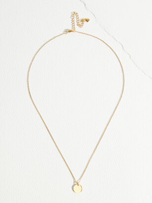 The Demi Fine - Anastasia Coin Necklace - Altar'd State