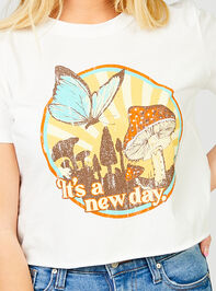 A New Day Cropped Tee Detail 4 - Altar'd State