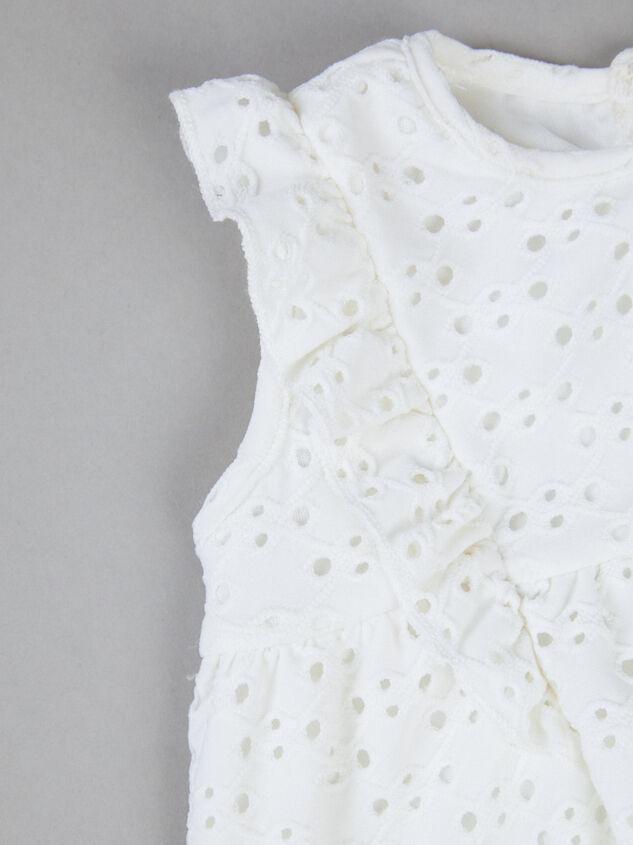 Tullabee Eyelet Dress Detail 4 - Altar'd State