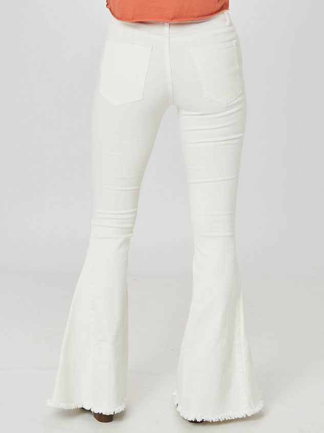 Tennley Flare Jeans Detail 4 - Altar'd State
