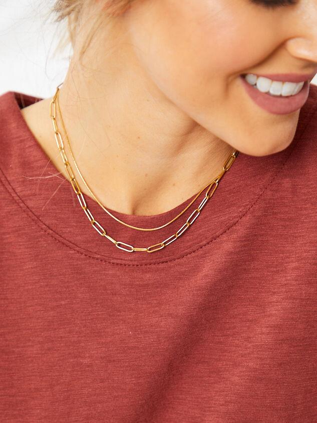 Sage Necklace - Gold Detail 3 - Altar'd State