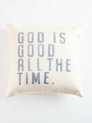 God is Good Pillow - Altar'd State