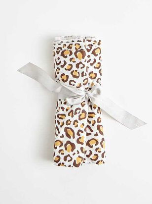 Tullabee Leopard Swaddle Blanket - Altar'd State