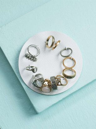 Layering Stone Ring Set - Altar'd State
