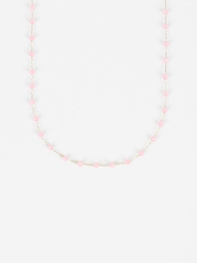 Tide Pool Necklace - Pink Detail 2 - Altar'd State