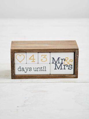 Mr & Mrs Countdown Calendar - Altar'd State