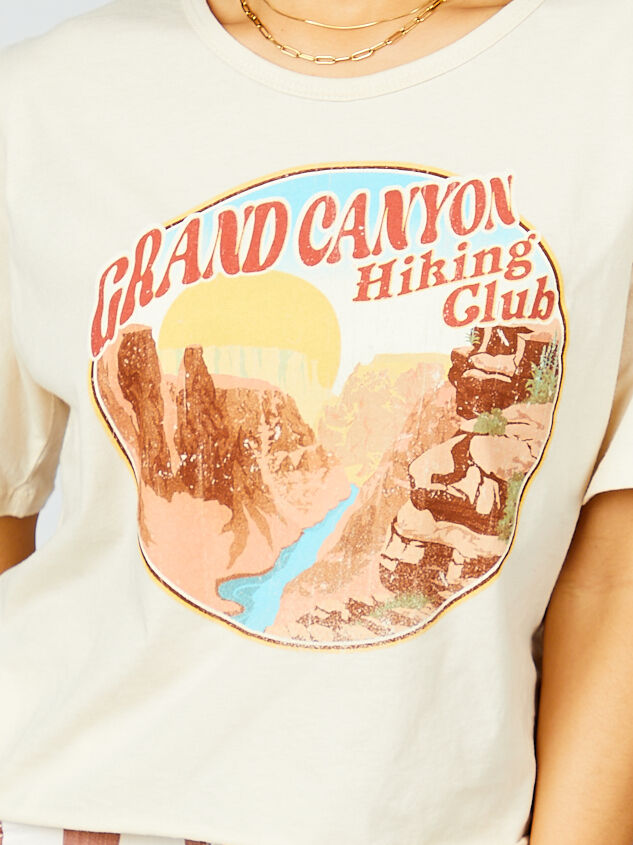 Grand Canyon Hiking Club Cropped Tee Detail 5 - Altar'd State