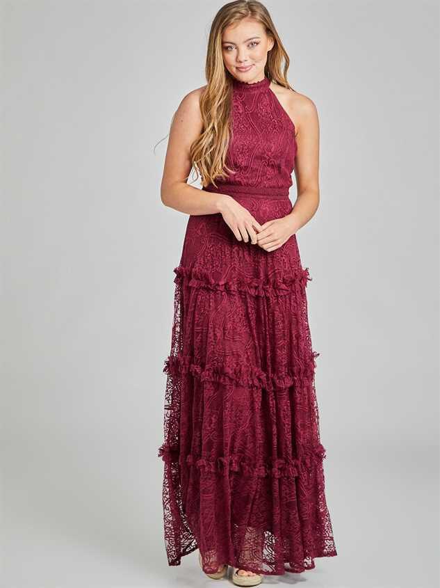 Aurelia Maxi Dress Detail 2 - Altar'd State