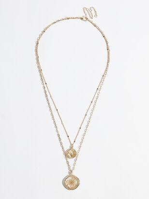 Olivia Flower Necklace - Altar'd State