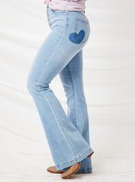 Crazy in Love Flare Jeans Detail 4 - Altar'd State