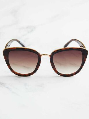 Layla Sunglasses - Brown - Altar'd State