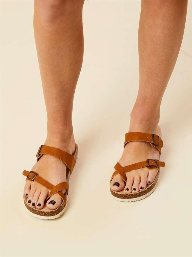 Bork Double Buckle Sandals Detail 2 - Altar'd State