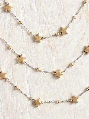 Multitude of Stars Necklace - Altar'd State