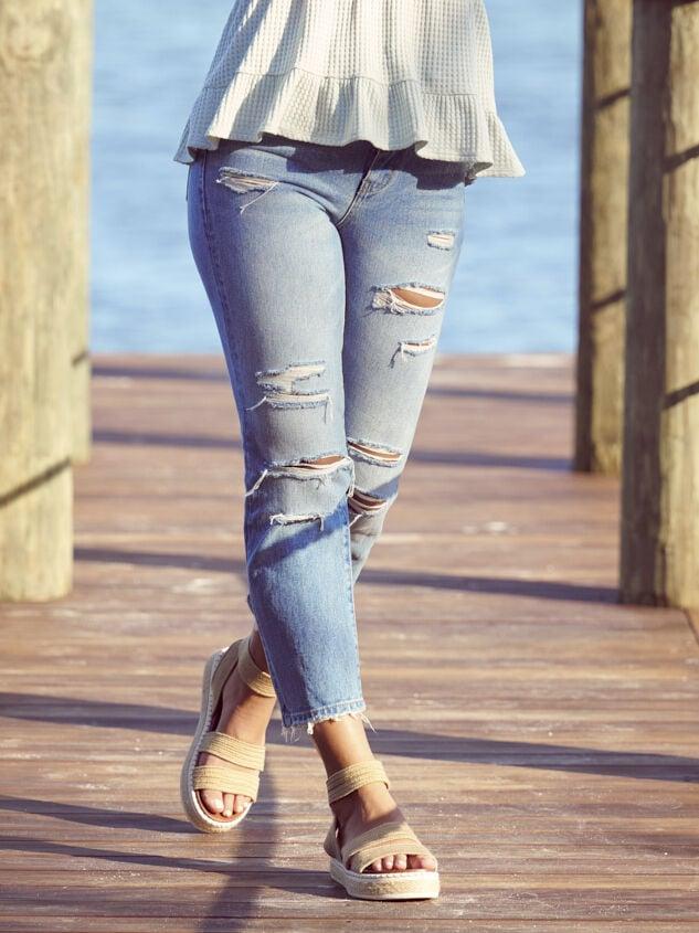Kate Straight Leg Jeans - Altar'd State