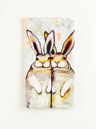 Bunny Floral Tea Towel - Altar'd State