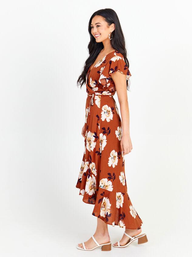 Florentina Floral Maxi Dress Detail 2 - Altar'd State