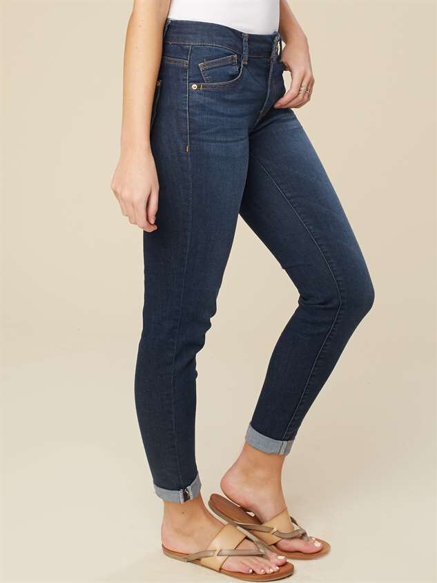 Roll Skinny Roll Jeans Detail 2 - Altar'd State