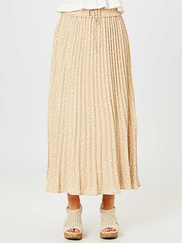Kailey Midi Skirt Detail 3 - Altar'd State