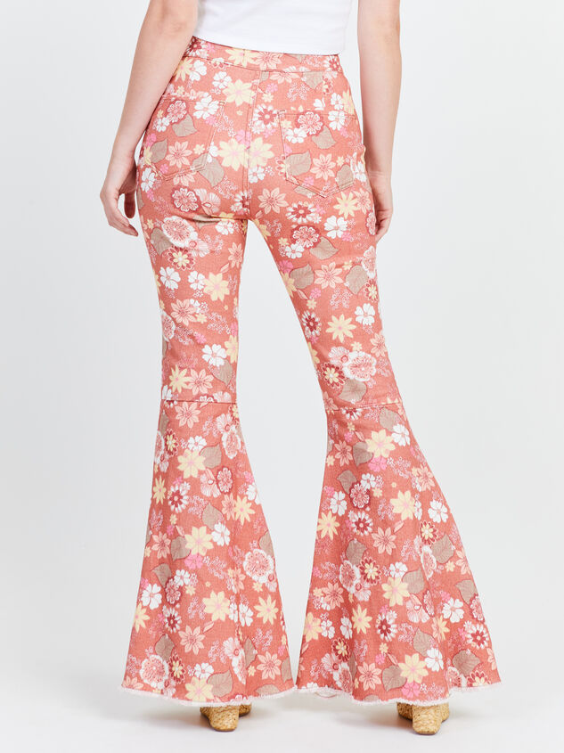 Cindy Retro Flare Jeans Detail 4 - Altar'd State