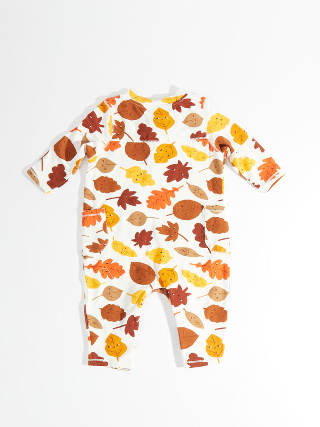 Tullabee Fall Leaves Romper Detail 2 - Altar'd State