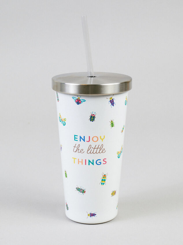 Enjoy the Little Things Tumbler with Straw - Altar'd State