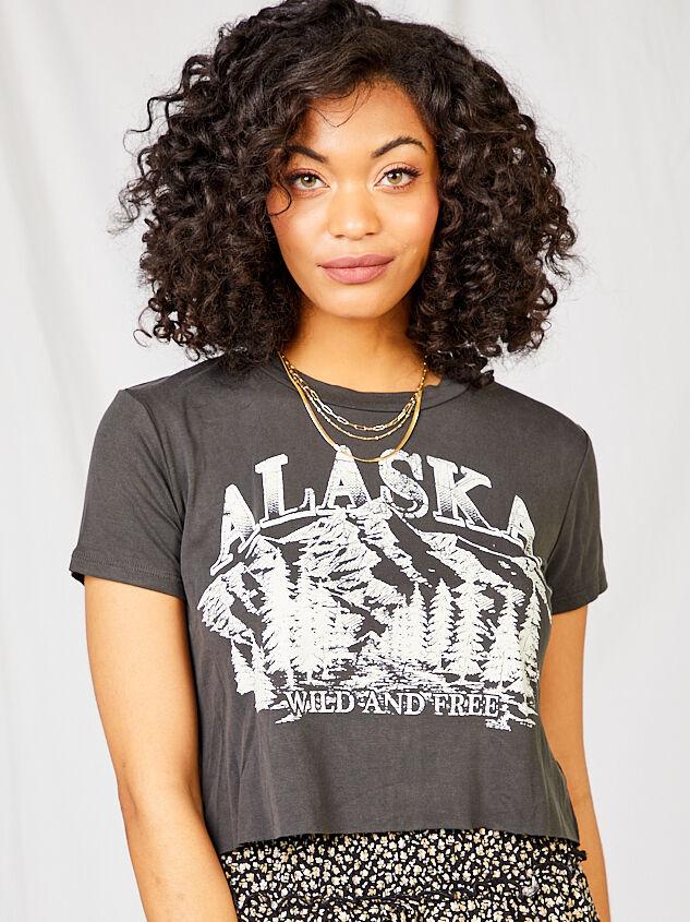 Alaska Cropped Tee - Altar'd State