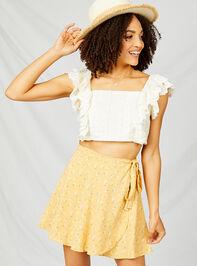 Alena Wrap Skirt Detail 4 - Altar'd State