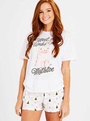 Meet Me Under the Mistletoe Sleep Set - Altar'd State