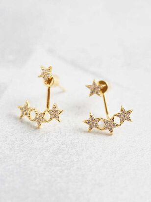 Star Cluster Jacket Earrings - Altar'd State