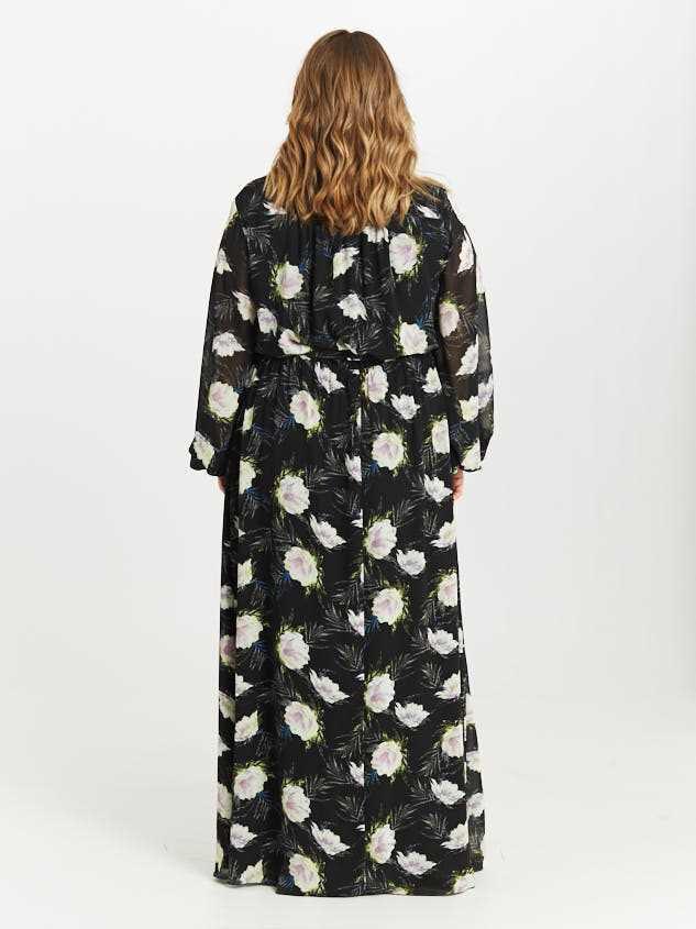 Nessie Maxi Dress Detail 3 - Altar'd State