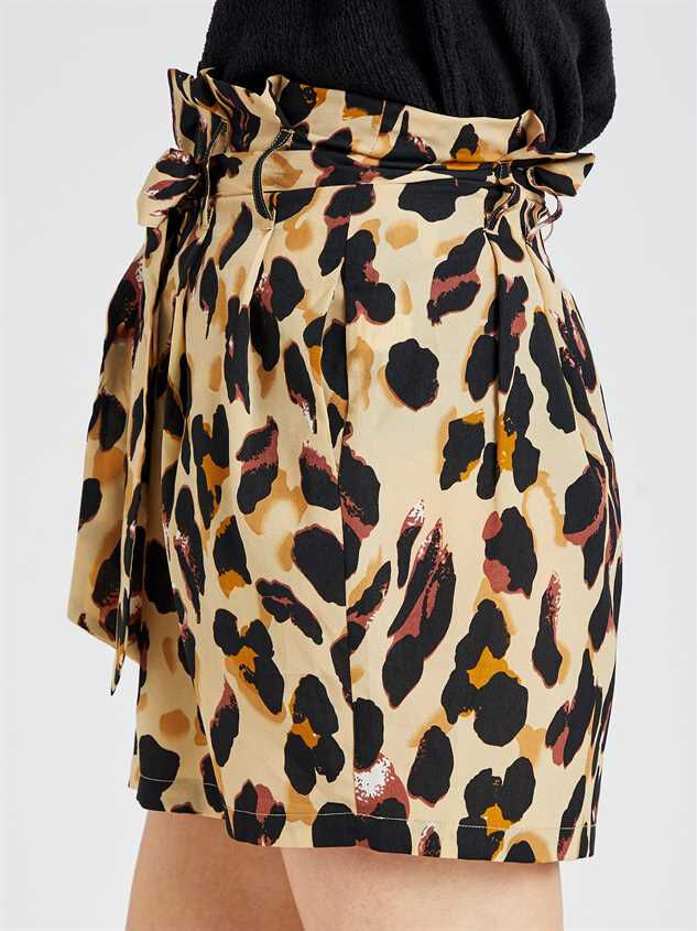 Leopard Skirt Detail 4 - Altar'd State