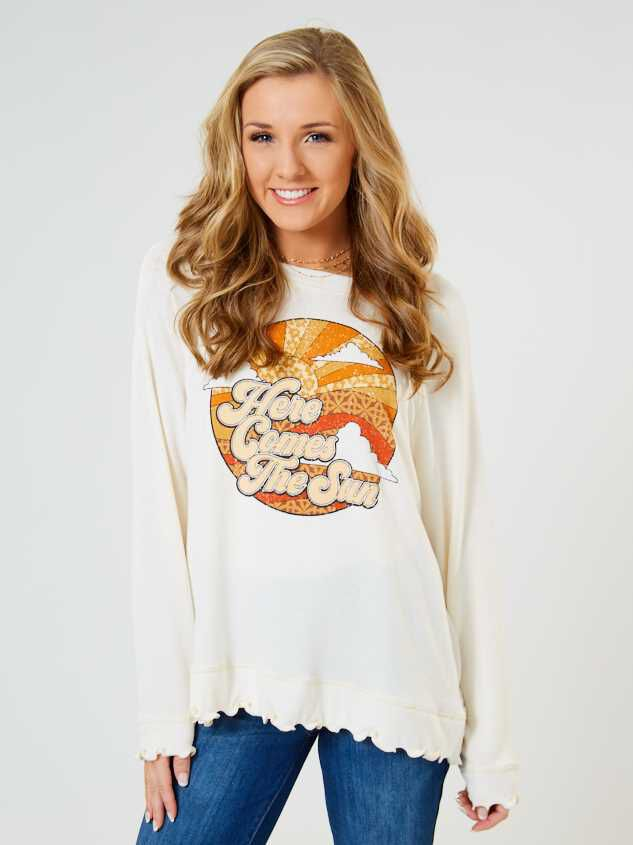 Here Comes the Sun Pullover - Altar'd State