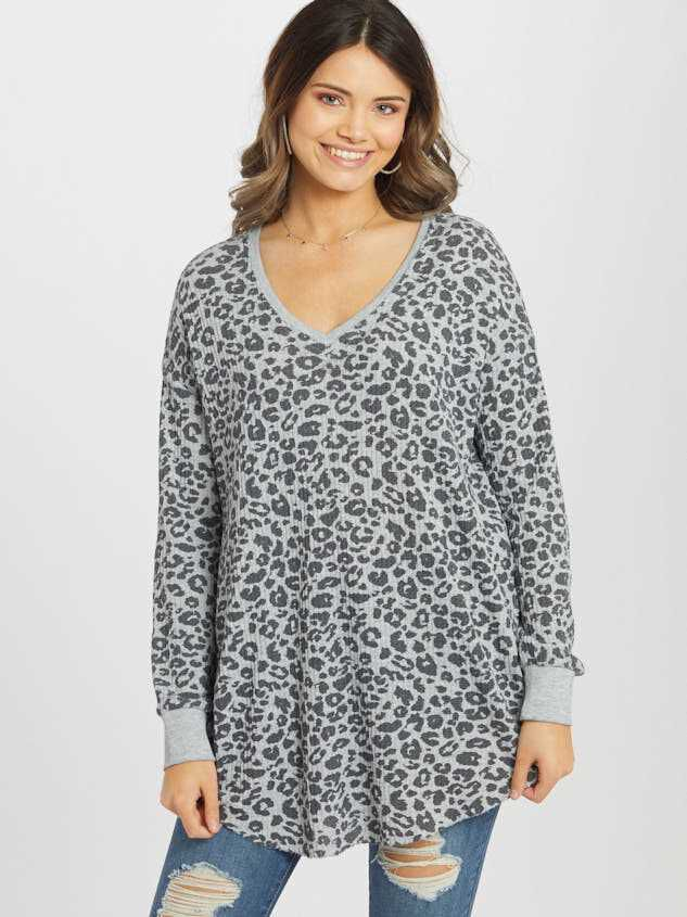 Leopard Tunic Top - Altar'd State