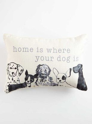 Home is Where the Dog Is Pillow - Altar'd State